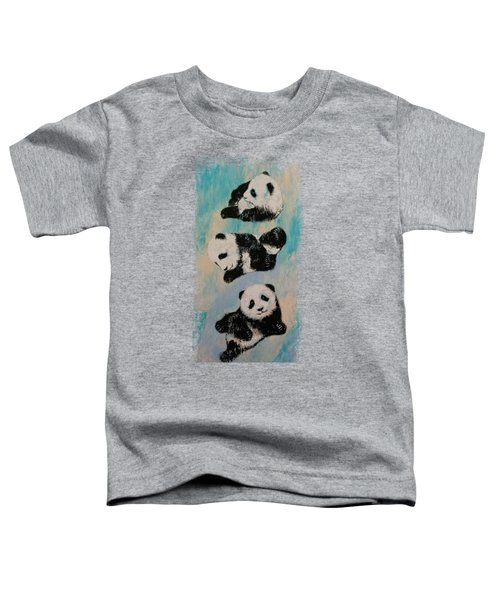 Panda Karate Toddler T-Shirt