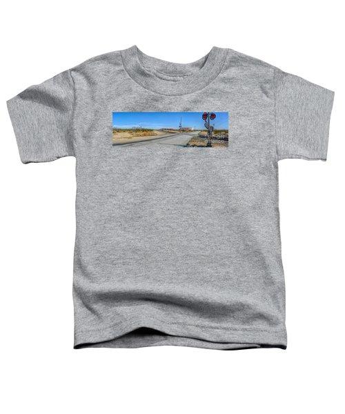 Panoramic Railway Signal Toddler T-Shirt
