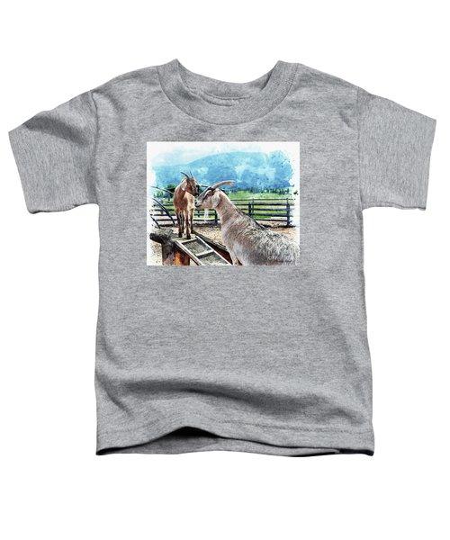 Papa And The Kid Toddler T-Shirt