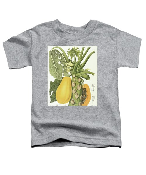 Papaya Toddler T-Shirt by Berthe Hoola van Nooten