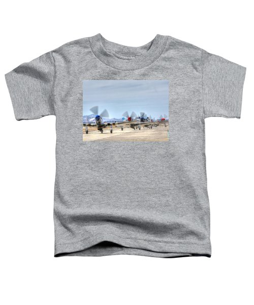 Parade Of Mustangs Toddler T-Shirt