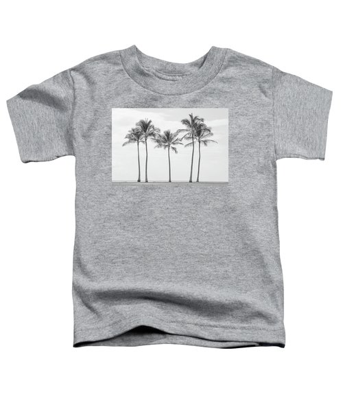 Paradise In Black And White II Toddler T-Shirt