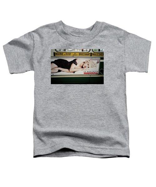 Paris Bus Toddler T-Shirt