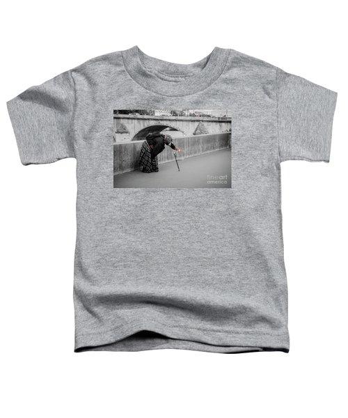 Parisian Beggar Lady Toddler T-Shirt