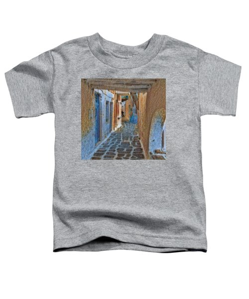 Toddler T-Shirt featuring the photograph Paros Beauty Island Greece  by Colette V Hera Guggenheim