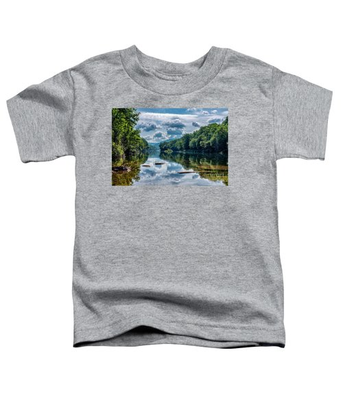 Partially Cloudy Gauley River Toddler T-Shirt