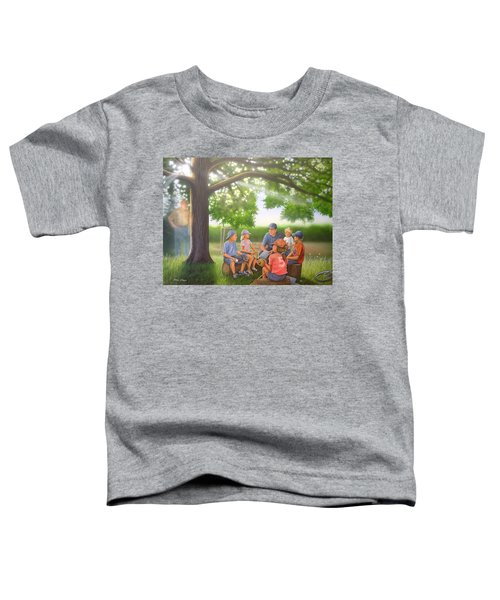 Pass It On - Baseball Toddler T-Shirt
