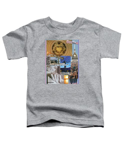 Past Present Future Toddler T-Shirt