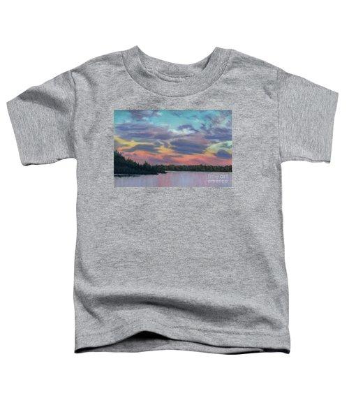 Pastel Sunset Toddler T-Shirt
