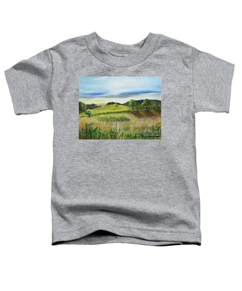 Pasture Love At Chateau Meichtry - Ellijay Ga Toddler T-Shirt
