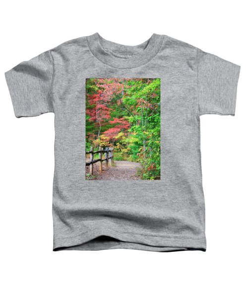 Path In The Woods Toddler T-Shirt