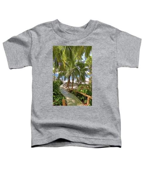 Path To Paradise Toddler T-Shirt