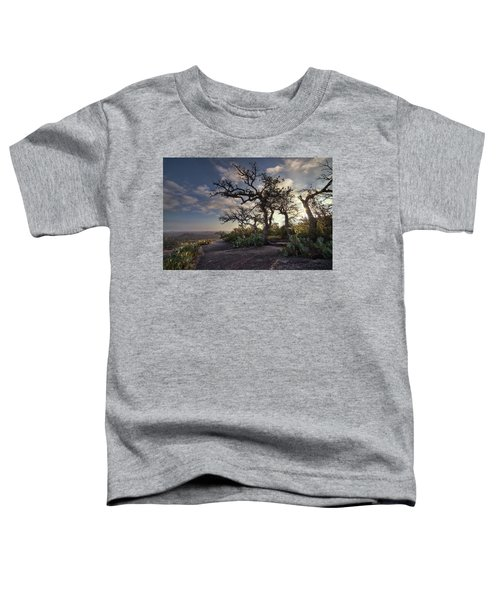 Pathway On Top Of Enchanted Rock Toddler T-Shirt