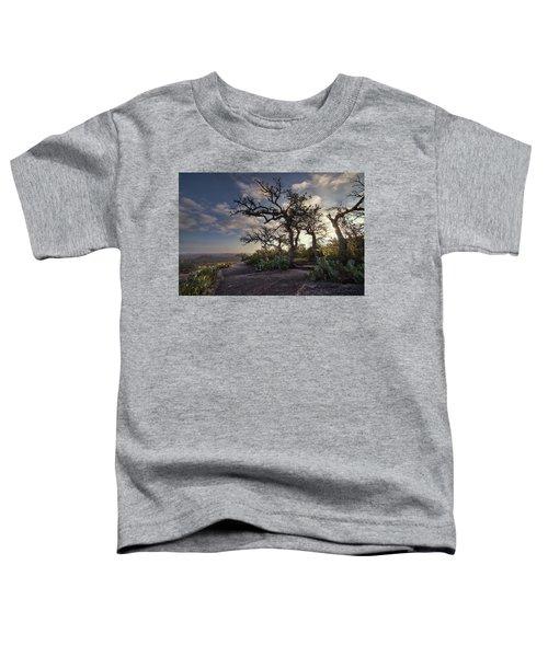Pathway On Top Of Enchanted Rock Toddler T-Shirt