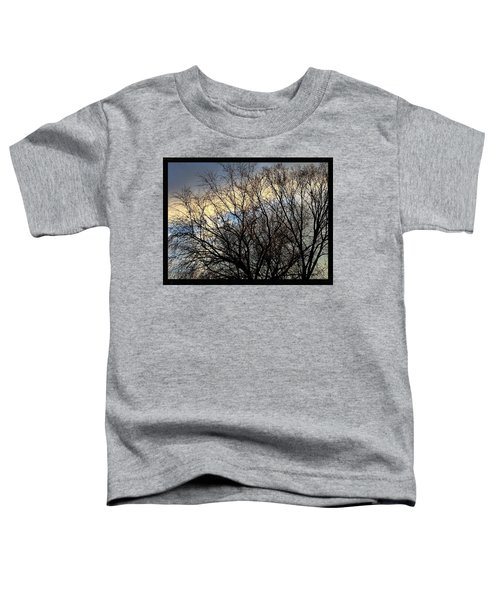 Patterns In The Sky Toddler T-Shirt