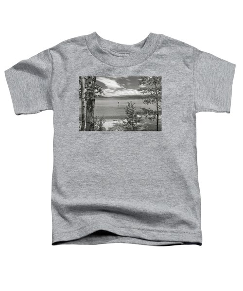 Payette Lake Boarder Toddler T-Shirt