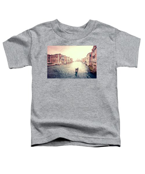 Peace In Venice Toddler T-Shirt