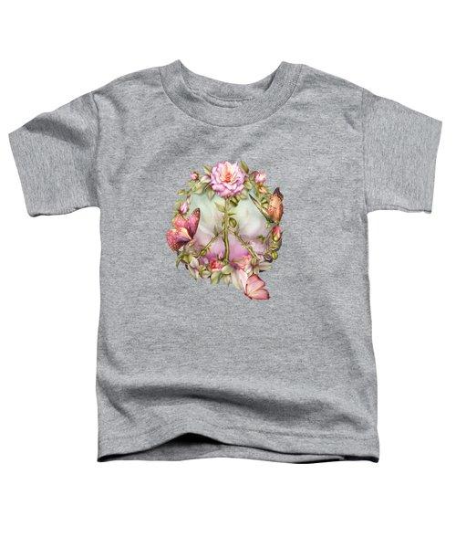 Peace Rose Toddler T-Shirt