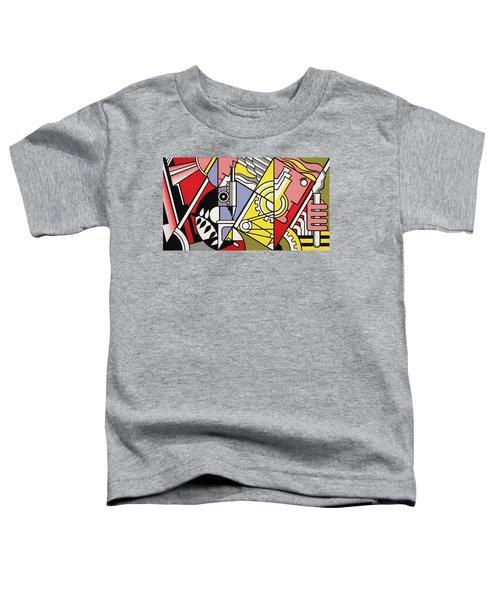 Peace Through Chemistry I - Roy Lichtenstein Toddler T-Shirt