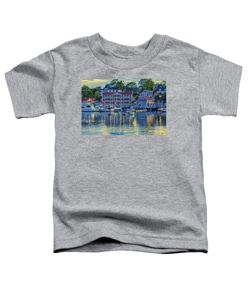 Peaceful Harbor Toddler T-Shirt