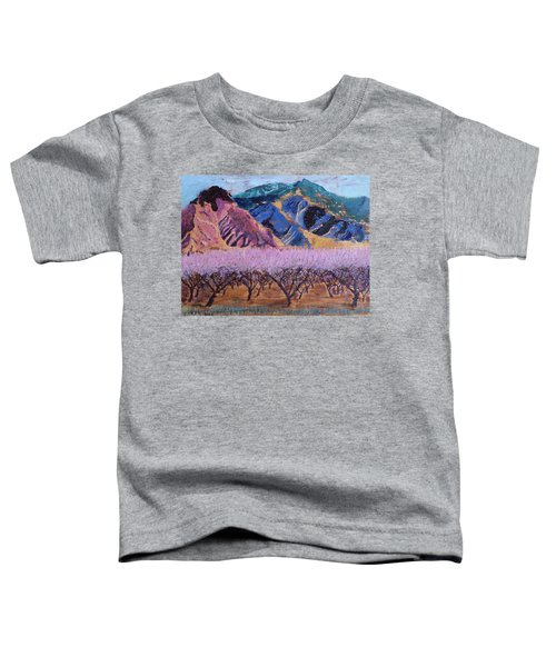 Peach Orchard Canigou Toddler T-Shirt