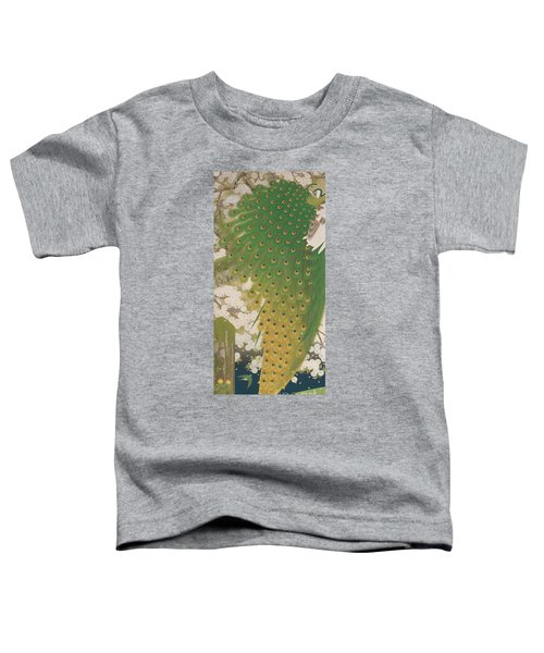 Peacocks And Cherry Tree Toddler T-Shirt