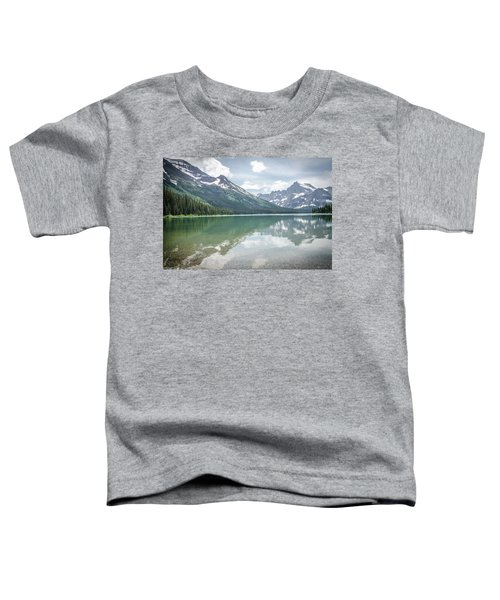 Peaks At Lake Josephine Toddler T-Shirt