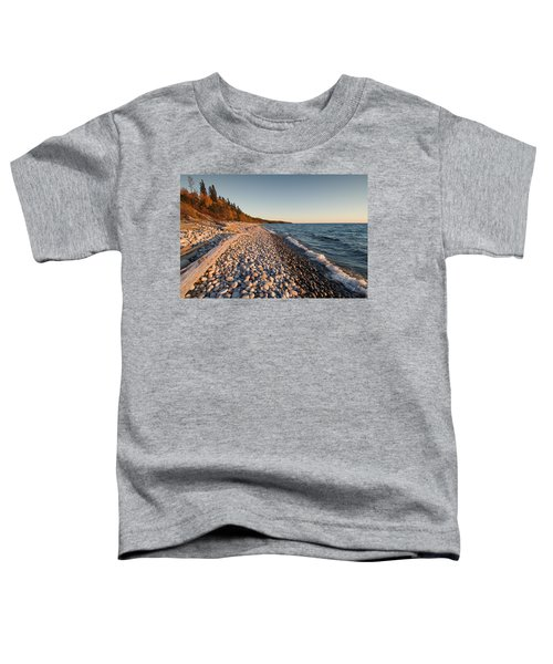 Toddler T-Shirt featuring the photograph Pebble Beach Autumn    by Doug Gibbons