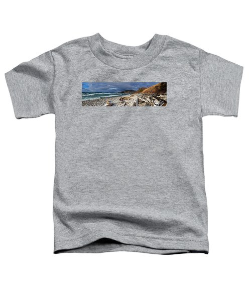 Toddler T-Shirt featuring the photograph Pebble Beach by Doug Gibbons