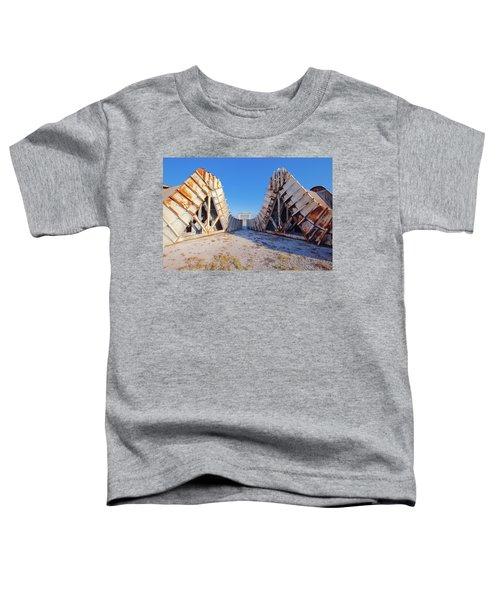 Pedestal Between The Deflectors Toddler T-Shirt