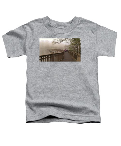 Pedestrian Bridge Early Morning Toddler T-Shirt