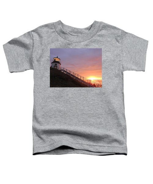 Peeking Sunrise Toddler T-Shirt
