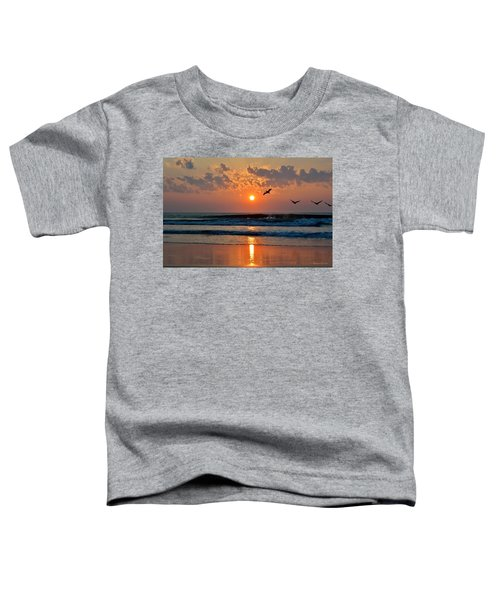 Pelicans On The Move Toddler T-Shirt