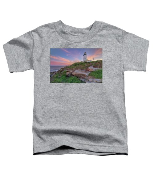Pemaquid Point Sunset Toddler T-Shirt