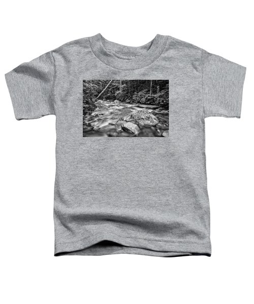 Pemi River Black-white Toddler T-Shirt
