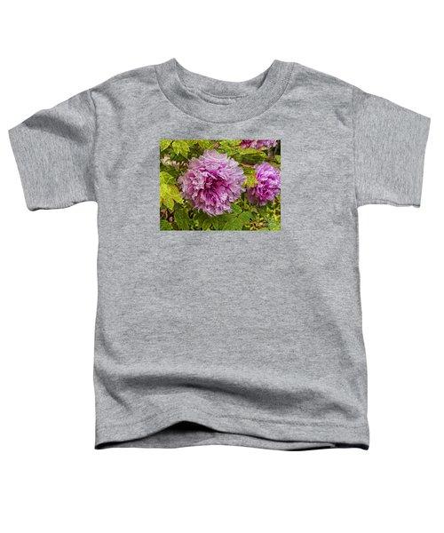 Peony Lace Toddler T-Shirt