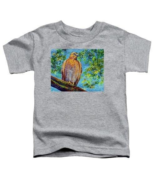Perched Hawk Toddler T-Shirt