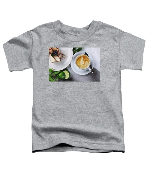 Perfect Breakfast Toddler T-Shirt by Happy Home Artistry