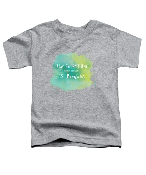 Permissible Toddler T-Shirt