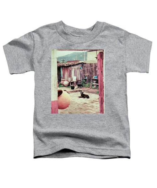 Perro On The Patio Toddler T-Shirt