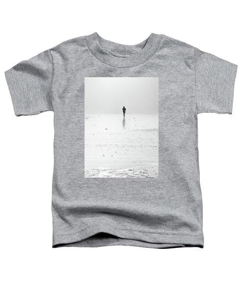 Person Running On Beach Toddler T-Shirt