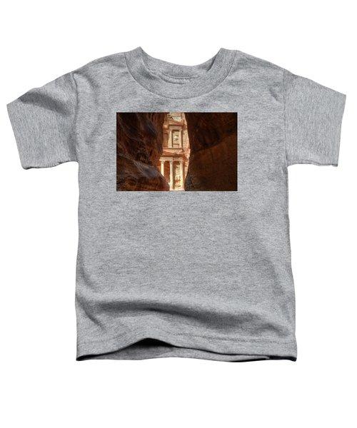 Petra Treasury Revealed Toddler T-Shirt