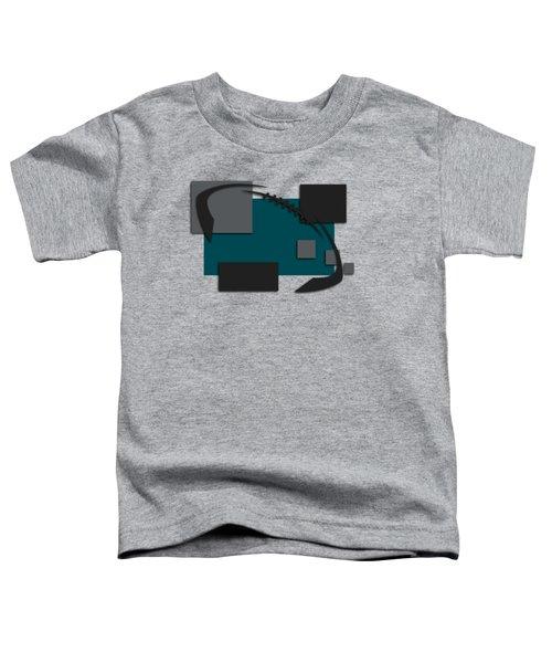Philadelphia Eagles Abstract Shirt Toddler T-Shirt by Joe Hamilton