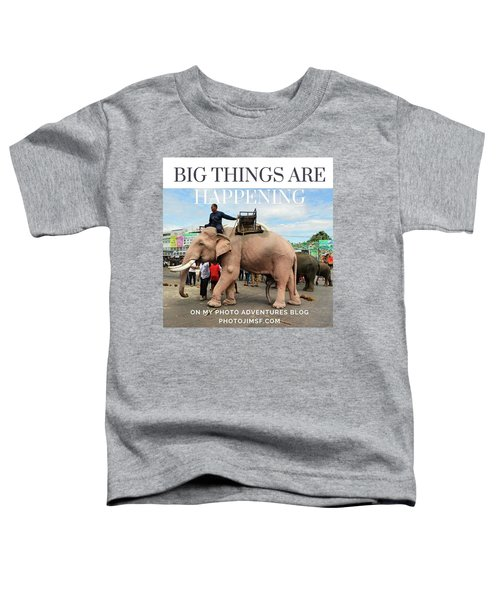 Toddler T-Shirt featuring the photograph #photoadventure #travel #thailand by Mr Photojimsf