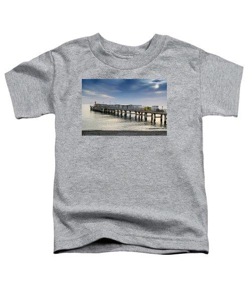 Pier At Sunset Toddler T-Shirt