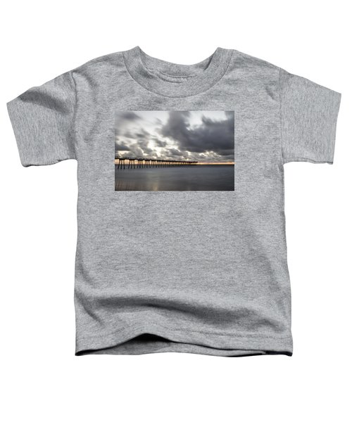 Pier In Misty Waters Toddler T-Shirt