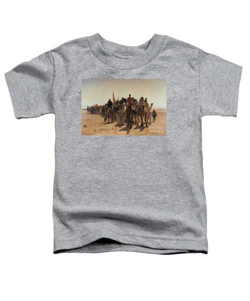 Pilgrims Going To Mecca Toddler T-Shirt