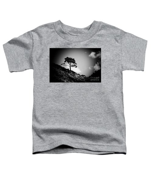 Pine At Sky Background Artmif.lv Toddler T-Shirt