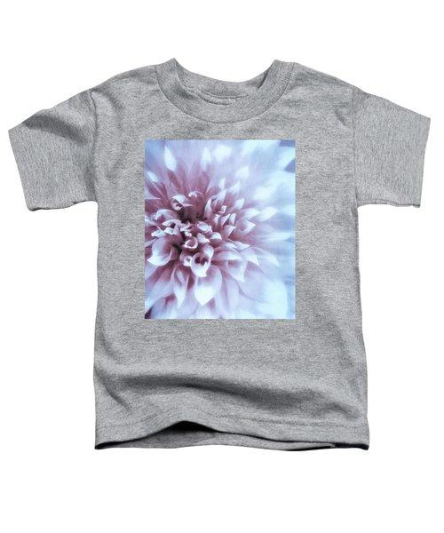 Pink And Blue Dahlia Toddler T-Shirt