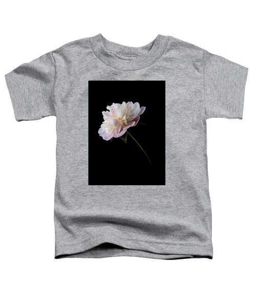 Pink And White Peony Toddler T-Shirt